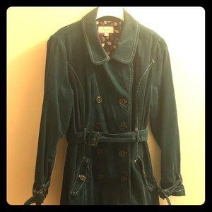 Merona Corduroy Trench Coat.